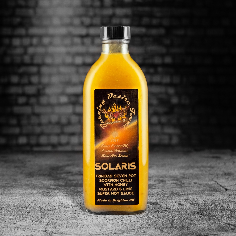 burning desire flame roasted habanero sauce
