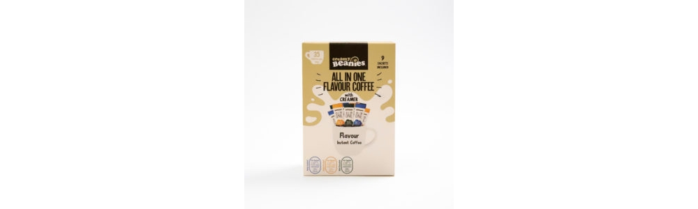 beanies all in one flavour coffee 35 calories per cup