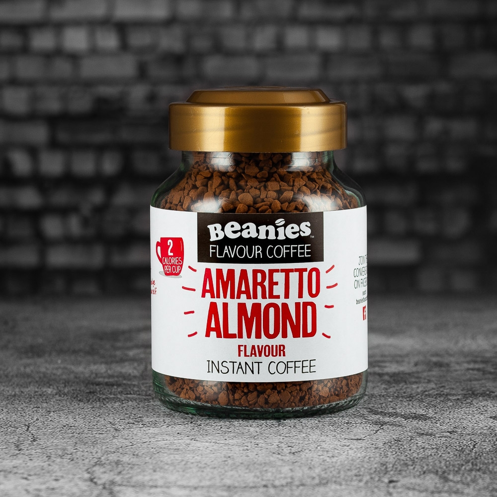 beanies coffee amaretto almond 2 calries per cup