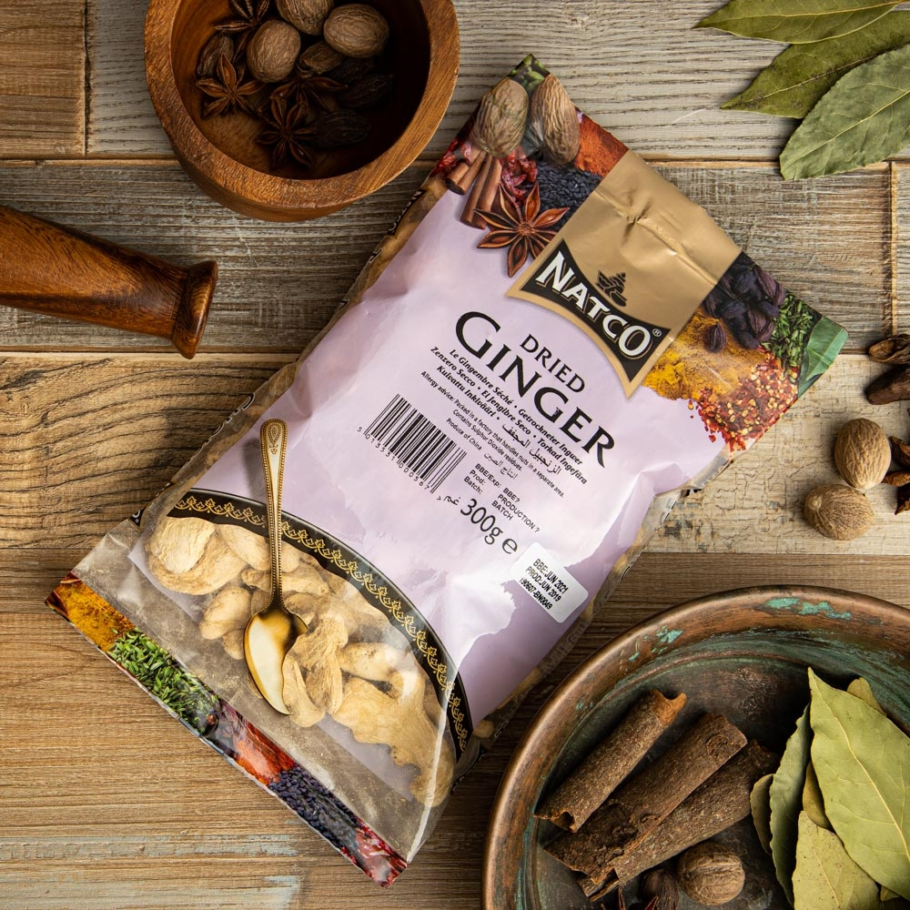 natco foods dried ginger 50g