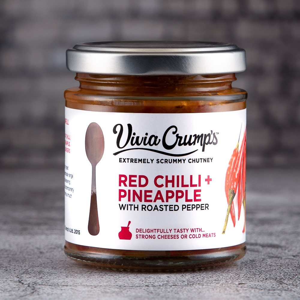vivia crumps - red chilli + pineapple with roasted pepper