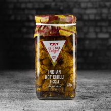 cottage delight indian hot chilli pickle