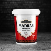 hot madras curry sauce - the curry sauce co