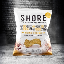 shore asian peking seaweed chips 25g