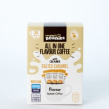 beanies all in one salted caramel coffee 35 calories per cup