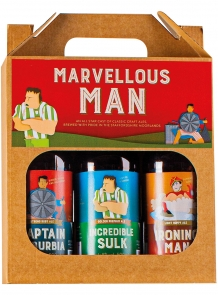 marvellous man ale gift pack