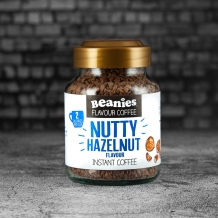 beanies nutty hazelnut coffee 2 calories per