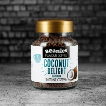 beanies coconut delight coffee 2 calories per