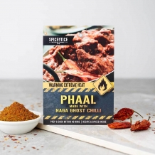 spicentice phaal curry kit made with naga ghost chilli