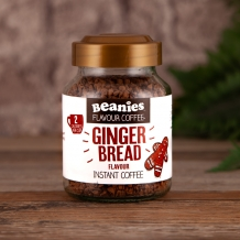 beanies ginger bread coffee 2 calories per cup