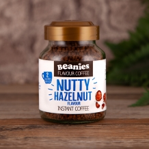 beanies nutty hazelnut coffee 2 calories per cup