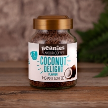 beanies coconut delight coffee 2 calories per cup