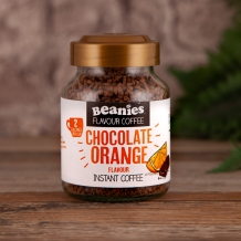 beanies chocolate orange coffee 2 calories per cup