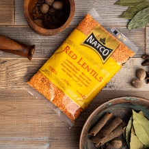 natco foods red lentils 500g