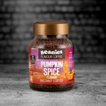 beanies pumpkin spice coffee 2 calories per c