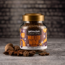 beanies mulled wine coffee 2 calories per cup