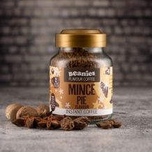 beanies mince pie coffee 2 calories per cup
