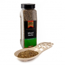 mixed herbs 140g large shaker jar - chef will