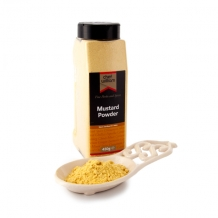 mustard powder 450g large shaker jar - chef williams