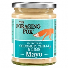the foraging fox coconut, chilli & lime mayo 240g