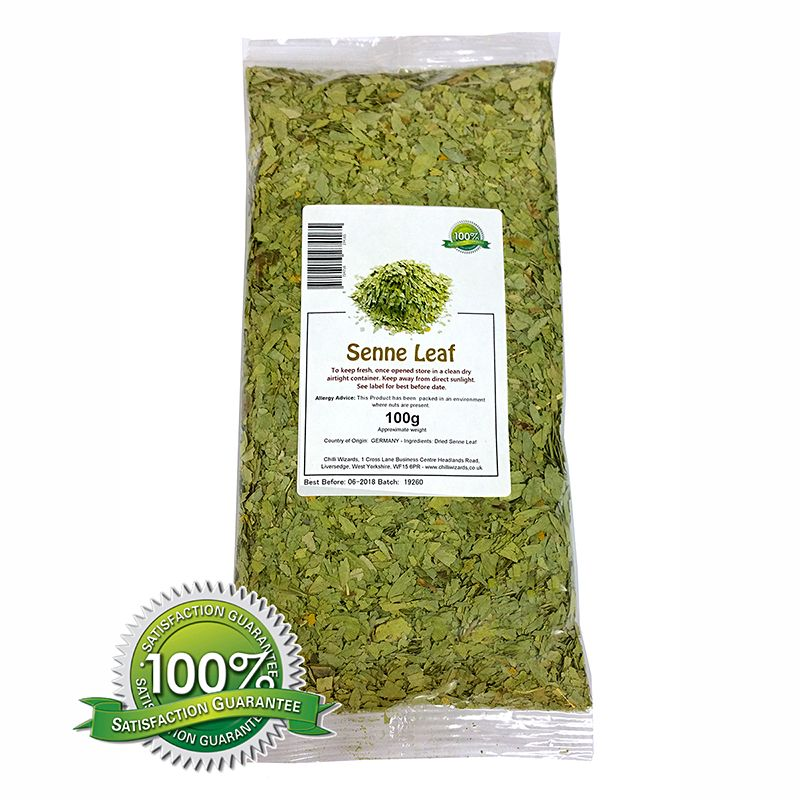 Senna Leaf  - Herbal Tea 100g - 1kg